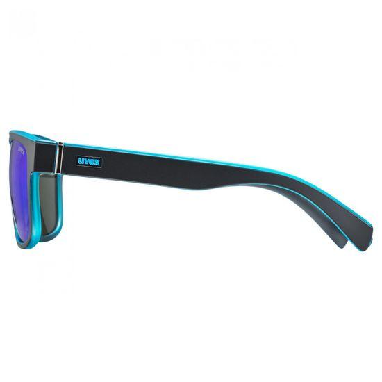 Uvex LGL 21 sončna očala, mat črno-modra