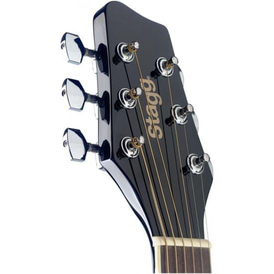 Stagg SA20A BLK, akustická gitara typu Auditorium