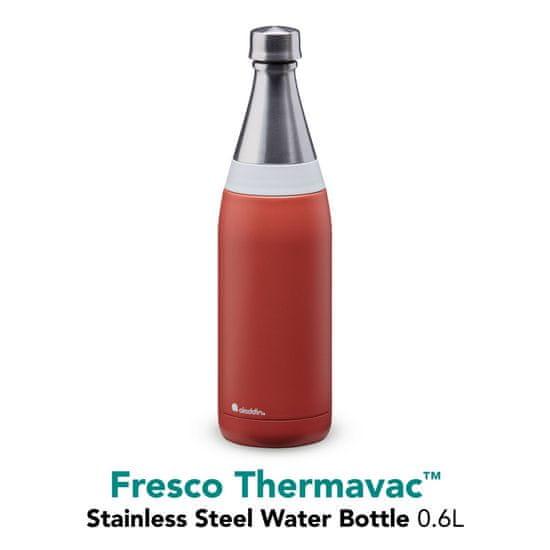 Aladdin Izolirana steklenička za vodo Fresco 0,6 l, terracotta