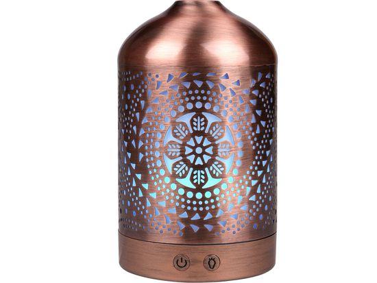 Nature7 aroma difuzér ORIENT, osvěžovač a zvlhčovač vzduchu, kovový povrch