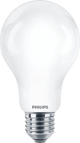 Philips LED žárovka Classic 7.5-150 W E27 827 A67 WW FR ND teplá bílá nestmívatelná