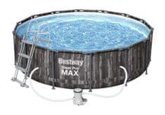Bestway Bazén Steel Pro Max Wood 4,27 × 1,07 m, súprava 5614Z