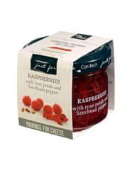 Can Bech MINI Confiture z malin s okvětními lístky růží a sečuánským pepřem, sklo 72g