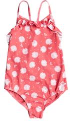 ROXY Lány egyrészes fürdőruha Ty Everglow1 ERLX103065-MGE7, 104, rózsaszín