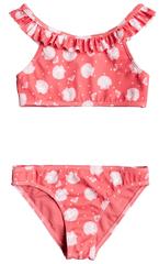 ROXY Lány 2 részes fürdőruha Ty Everglow Crop ERLX203127-MGE7, 122, rózsaszín