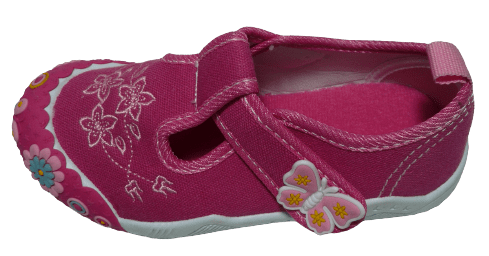 V+J dievčenské plátené sandále 131-0055-U1_3