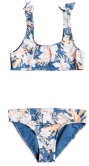ROXY Lány 2 részes fürdőruha Swim Lovers Bra ERLX203124-BMP6, 91, kék