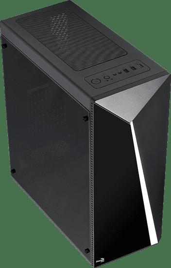 Aerocool PC skříň Shard + zdroj AeroCool 650W