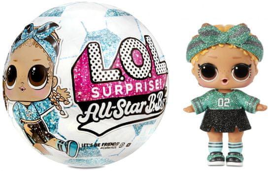 L.O.L. Surprise! nogometne športne zvezde, zelena