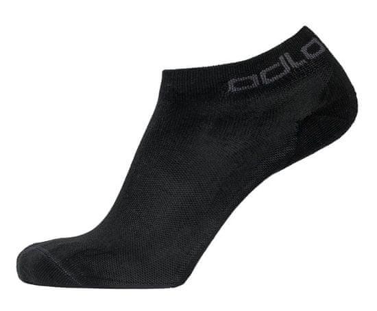 ODLO Active nogavice, nizke, črne (B:15000), 2 para