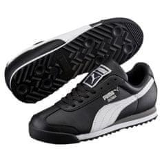 Puma Boty Roma Basic Jr Black-White-Silver 38,5