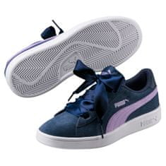 Puma Boty Smash V2 Ribbon Jr Sargasso Sea-Purple 37,5