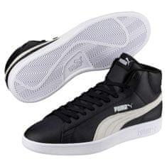 Puma Čevlji Smash V2 Mid L Black-White 40,5