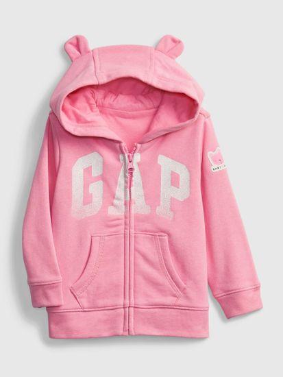 Gap Dojenčki Pulover Logo Hoodie