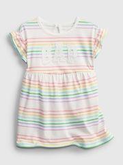 Gap Dojenčki Obleka Logo Arch Dress 3-6M