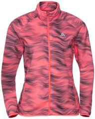 ODLO Element AOP ženska jakna, roza/siva, XS (B:30727)