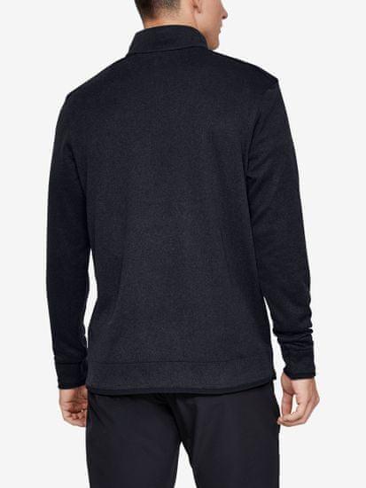 Under Armour Pulover Sweaterfleece 1/2 Zip-Blk