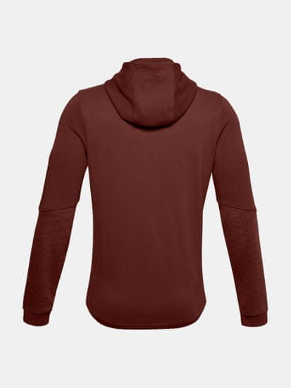Under Armour Pulover DOUBLE KNIT FZ HOODIE-RED