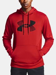 Under Armour Mikina Armour Fleece Big Logo HD-RED XL