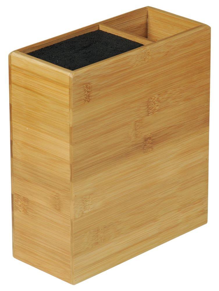 Kesper Blok na nože pro kuchyňské náčiní z bambusu