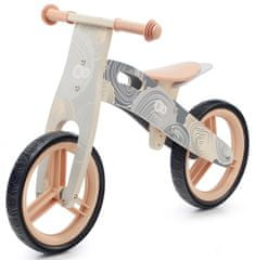 KinderKraft Balance bike Runner 2021 Nature, szürke