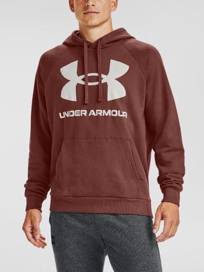 Under Armour Pulover Rival Fleece Big Logo HD-RED