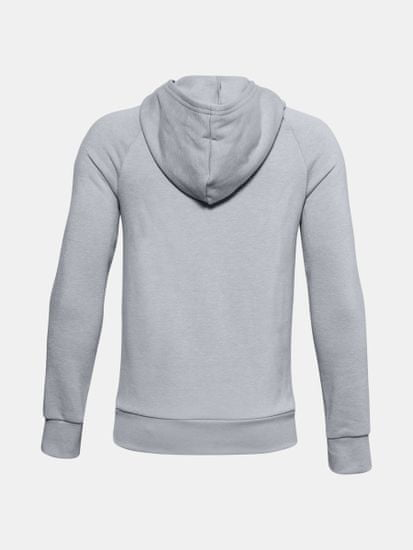 Under Armour Pulover RIVAL FLEECE HOODIE-GRY