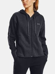Under Armour Mikina UA Rival Flce EMB FZ Hoodie-BLK XS