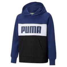 Puma Bluza chłopięca Alpha Hoodie 104 granatowa