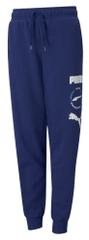 Puma Alpha Sweatpants hlače trenirka za dječake, plava, 104