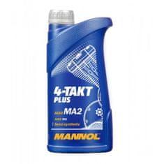 Mannol 4-Takt Plus motorno olje, 10W-40, 1 l