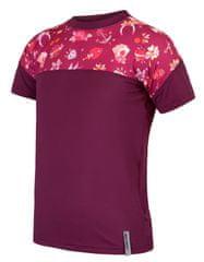 Sensor Koszulka dziewczęca Coolmax Impress 130 różowa