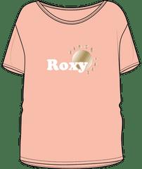 Roxy Dayandnightfoil ERGZT03752-NEZ0 dekliška majica, XS, roza