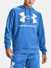 Under Armour Mikina Rival Fleece Big Logo Hd-Blu L