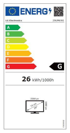 LG LED IPS monitor 29UM69G