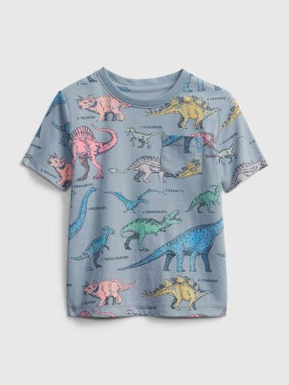 Gap Otroške Majica Ptf Ss Print