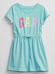 Gap Otroške Obleka Logo V-Ss Ptf Knit Drs 3YRS