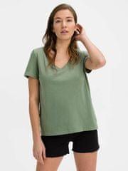 Gap Majica Organic Vintage V-Neck M