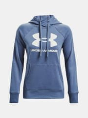 Under Armour Mikina Rival Fleece Logo Hoodie-BLU L