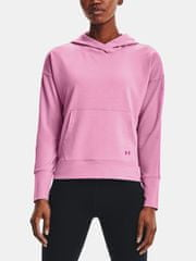 Under Armour Pulover Rival Terry Taped Hoodie-PNK S