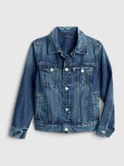 Gap Detská džínsová bunda denim icon XS