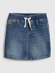 Gap Dětská sukně denim pull-on skirt XS