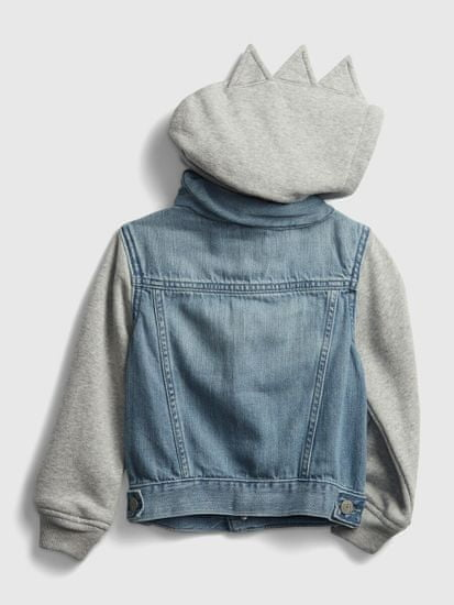 Gap Otroška Jakna dinosaur denim jacket