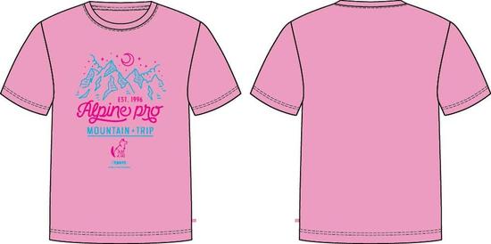 ALPINE PRO Dayo 4 dekliška majica