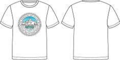 ALPINE PRO Dodgo 4 otroška majica, bela,104–110