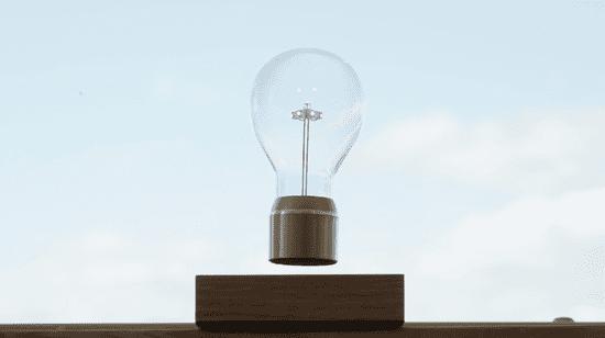 Flyte Levitující designová žárovka FLYTE Royal