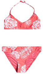 ROXY Lány kétrészes fürdőruha Cali Friend Tri ERGX203337-MGE6, S, rózsaszín