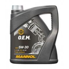 Mannol O.E.M motorno ulje, 5W-30, A5/B5, Ford, Volvo, 4 l