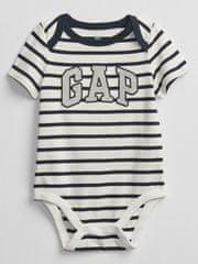 Gap Baby body Logo v-b elv bs 6-12M