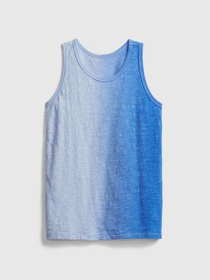 Gap Otroške Majica brez rokavov 1 color vertic